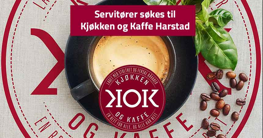 Servitør Kjøkken og Kaffe Harstad