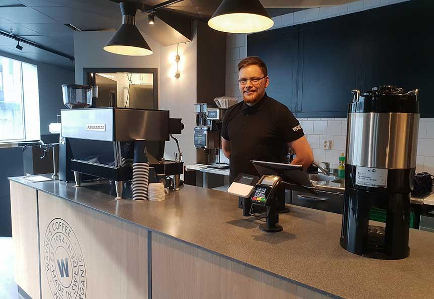 Waynes Coffes åpner i Bysenteret
