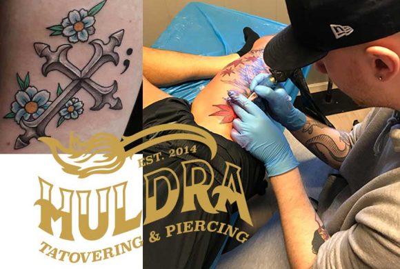 Huldra Tatovering & Piercing åpner torsdag 11.4.2019
