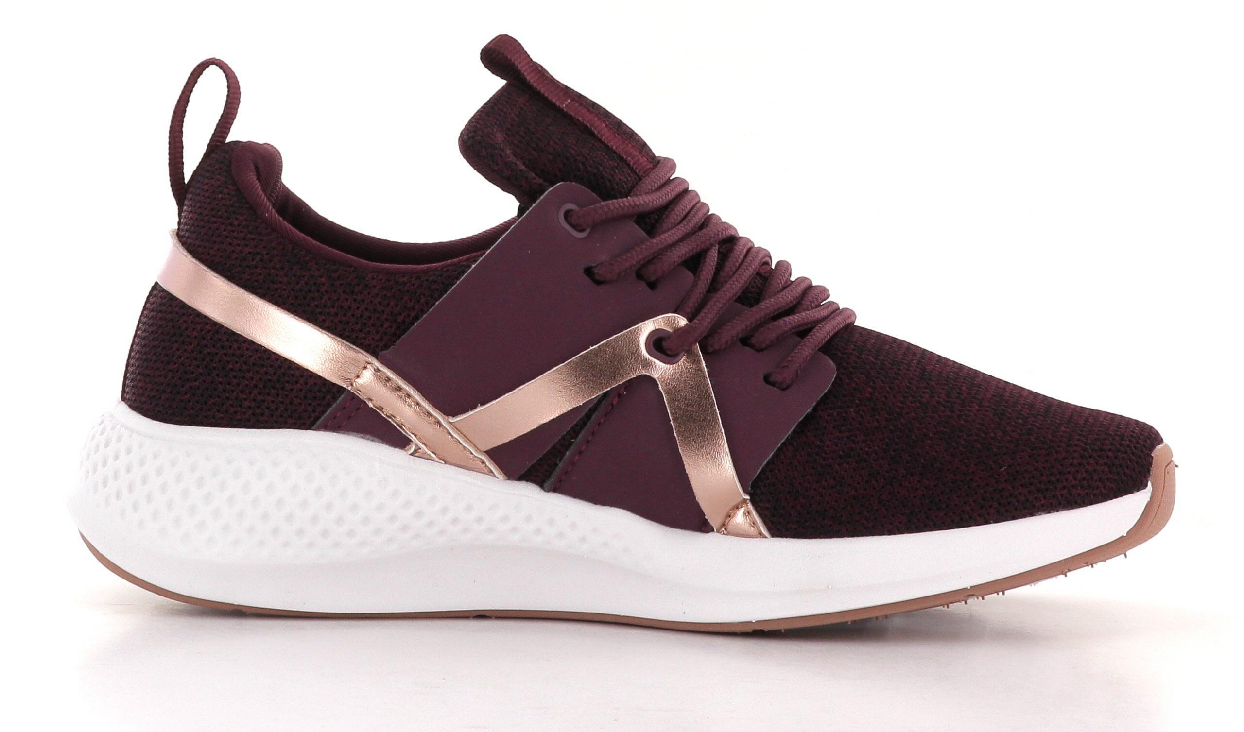 Burgunder Sapatos Ys Oslo Sneaker Sko