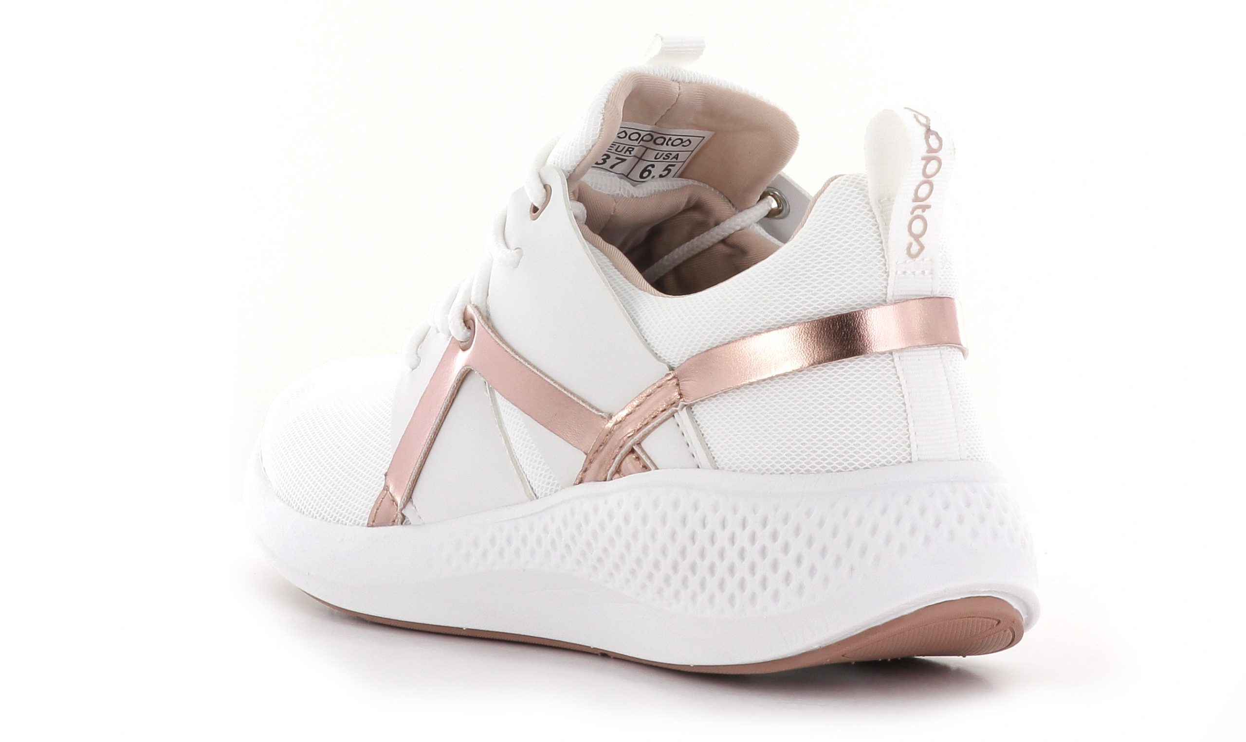 Hvit Sapatos Ys Oslo Sneaker Sko
